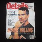 画像3: デッドストック 90's HENRY ROLLINS ヘンリーロリンズ Tシャツ BLK / 190128 (3)
