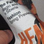 画像4: デッドストック 90's HENRY ROLLINS ヘンリーロリンズ Tシャツ BLK / 190128 (4)