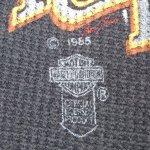画像5: 古着 80's HARLEY DAVIDSON ハーレーダヴィッドソン サーマル カットソー 長袖Tシャツ BLK / 190204 (5)