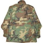 画像2: 古着 90's US ARMY AIR FORCE M-65 ミリタリー フィールドジャケット カモ 時計仕掛けのオレンジ /190127 (2)