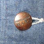 画像7: 古着 70's MONTGOMERY WARD モンゴメリーワード デニム カバーオール ジャケット ストアブランド NVY / 190227 (7)