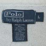 画像5: 古着 00's Ralph Lauren ラルフローレン 裏サーマルフード フルジップ スウェットパーカ GRY /190320 (5)