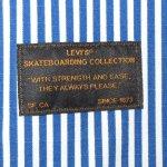 画像9: 新品 00's LEVI'S SKATEBOARDING リーバイス スケートボーディング ストライプ アノラック パーカ ジャケット BLUE×WHT / 190520 (9)