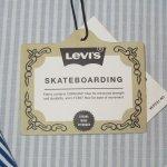 画像8: 新品 00's LEVI'S SKATEBOARDING リーバイス スケートボーディング ストライプ アノラック パーカ ジャケット BLUE×WHT / 190520 (8)