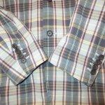 画像4: 古着 90's Ralph Lauren ラルフローレン マドラスチェック テーラード ジャケット MIX / 190520 (4)