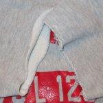 画像6: 古着 70's Champion チャンピオン REVERSE WEAVE 単色タグ カットオフ 半袖スウェット GRY /190605 (6)