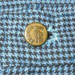 画像9: 古着 70's Lee リー RIDER 千鳥格子 リメイク ショーツ BLUE / 190613 (9)