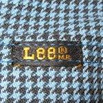 画像5: 古着 70's Lee リー RIDER 千鳥格子 リメイク ショーツ BLUE / 190613 (5)