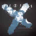 画像3: 古着 90's THE X FILES Xファイル SFテレビドラマ Tシャツ BLK / 190717 (3)