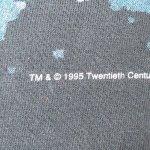 画像4: 古着 90's THE X FILES Xファイル SFテレビドラマ Tシャツ BLK / 190717 (4)