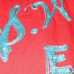 画像4: 古着 50's KING LOUIE キングルイ チェーンステッチ刺繍 レーヨン ボーリングシャツ RED / 190728 (4)