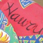 画像11: 古着 50's MADE IN CALIFORNIA MUSICAL ウクレレ 総柄 レーヨン アロハシャツ RED / 190728 (11)