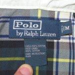 画像4: 古着 00's Ralph Lauren ラルフローレン タータンチェック コットン マリンパーカ GRN / 190911 (4)