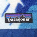 画像3: 古着 00's patagonia パタゴニア スナップT フリースジャケット 羽根柄 MIX / 191204 (3)