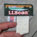 画像3: 古着 80's L.L.Bean エルエルビーン 山タグ PENOBSCOT PARKA ダウンジャケット made in USA PUP / 191204 (3)