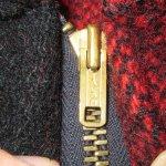 画像7: 古着 60's King Kole キングコール ウール ハンティングジャケット RED×BLK / 191210 (7)