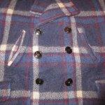 画像6: 古着 40's JC PENNEY SPORTCLAD ストアブランド ウール スポーツジャケット BLUE CHK / 191210 (6)