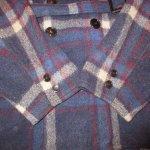 画像8: 古着 40's JC PENNEY SPORTCLAD ストアブランド ウール スポーツジャケット BLUE CHK / 191210 (8)