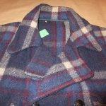 画像4: 古着 40's JC PENNEY SPORTCLAD ストアブランド ウール スポーツジャケット BLUE CHK / 191210 (4)