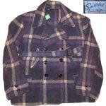 画像1: 古着 40's JC PENNEY SPORTCLAD ストアブランド ウール スポーツジャケット BLUE CHK / 191210 (1)