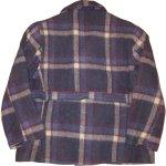 画像2: 古着 40's JC PENNEY SPORTCLAD ストアブランド ウール スポーツジャケット BLUE CHK / 191210 (2)