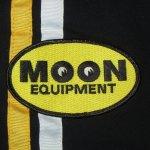 画像3: 古着 00's MOONEYES ムーンアイズ コットン レーシングジャケット USA製 BLK / 200126 (3)