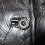 画像5: 古着 80's UNKNOWN パッチワーク レザージャケット BLK / 200126 (5)