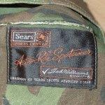 画像4: 古着 60's SEARS シアーズ リバーシブル ハンティングジャケット カモ×ORG / 200126 (4)