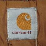 画像4: 古着 90's Carhartt カーハート ダックジャケット BRW / 200126 (4)