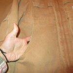 画像6: 古着 90's Carhartt カーハート ダックジャケット BRW / 200126 (6)