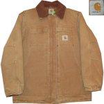 画像1: 古着 90's Carhartt カーハート ダックジャケット BRW / 200126 (1)