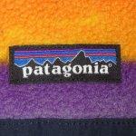 画像4: 古着 00's patagonia パタゴニア スナップT フリース マルチボーダー MIX / 200128 (4)