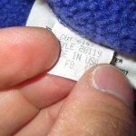 画像5: 古着 80's patagonia パタゴニア シェルジャケット Rマーク アメリカ製 PINK / 200128 (5)