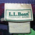 画像3: 古着 90's L.L.Bean エルエルビーン 幾何学模様 総柄 フリース MIX / 200128 (3)