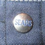 画像7: 古着 70's SEARS シアーズ ストアブランド デニム ペインターパンツ SCOVILL USA製 / 200201 (7)