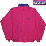画像1: 古着 80's patagonia パタゴニア シェルジャケット Rマーク アメリカ製 PINK / 200128 (1)
