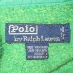 画像5: 古着 90's Ralph Lauren ラルフローレン フード付き スイングトップ ジャケット GRN / 200301 (5)