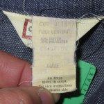 画像5: 古着 70's CHAMPION SPARK PLUG チャンピオン スパークプラグ デニムジャケット NVY / 200301 (5)