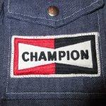 画像3: 古着 70's CHAMPION SPARK PLUG チャンピオン スパークプラグ デニムジャケット NVY / 200301 (3)