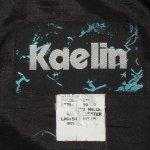 画像3: 古着 90's Kaelin 民族柄 ナイロン アノラック ジャケット BLK / 200520 (3)