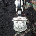 画像10: 古着 90's Kaelin 民族柄 ナイロン アノラック ジャケット BLK / 200520 (10)