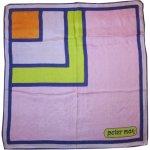 画像1: 古着 70's PETER MAX ピーターマックス スカーフ / 200605 (1)