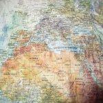 画像4: 古着 00's GABELLI US INC 世界地図柄ペーパージャケット MIX / 200703 (4)