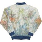 画像2: 古着 00's GABELLI US INC 世界地図柄ペーパージャケット MIX / 200703 (2)