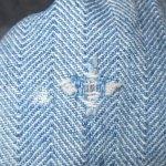 画像14: USED 80's JC PENNEY ストアブランド ヘリンボーン デニム オールインワン ツナギ USA製 BLUE / 200714 (14)