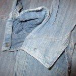 画像8: USED 80's JC PENNEY ストアブランド ヘリンボーン デニム オールインワン ツナギ USA製 BLUE / 200714 (8)