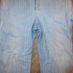 画像9: USED 80's JC PENNEY ストアブランド ヘリンボーン デニム オールインワン ツナギ USA製 BLUE / 200714 (9)