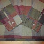 画像8: USED 60's McGREGOR マクレガー ブロックチェック オープンカラー ボックスシャツ MIX / 200909 (8)