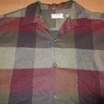 画像4: USED 60's McGREGOR マクレガー ブロックチェック オープンカラー ボックスシャツ MIX / 200909 (4)
