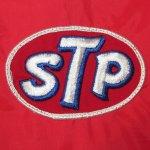 画像3: USED 70's STP レーシング ナイロンジャケット RED / 200920 (3)